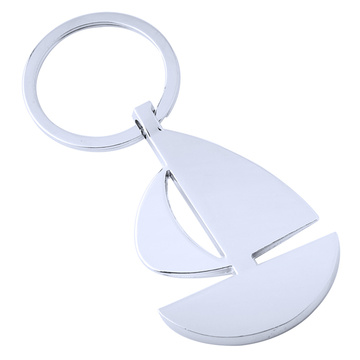 Hot Style Metal Key Chains Accessories Boat Shape