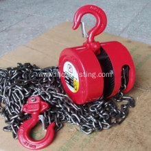 1.5T rond shape manual chain block