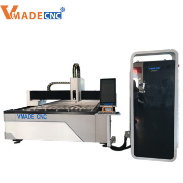 3KW laser metal cutting machine for carbon steel stainless steel