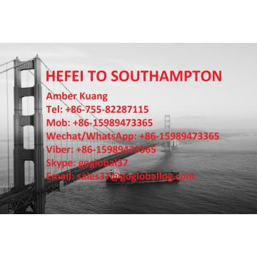 Anhui Hefei Sea Freight to Britain Southampton