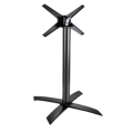 aluminum restaurant folding metal stand for table