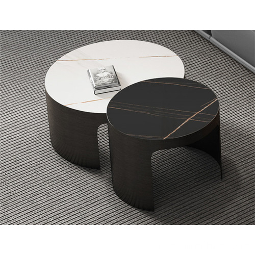 Sintered stone coffee table set
