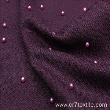 Polyester Hesha Plain Dyed Pearl 68 PD Fabric