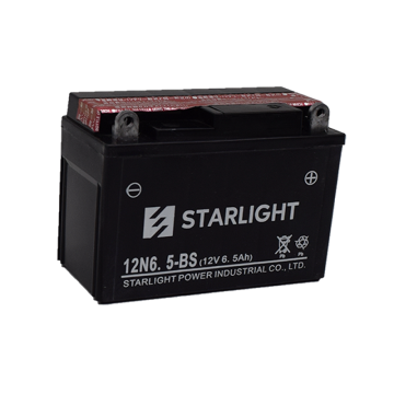 12V6.5ah Maintenance Free Motorcycle Batteries 12N6.5-BS001