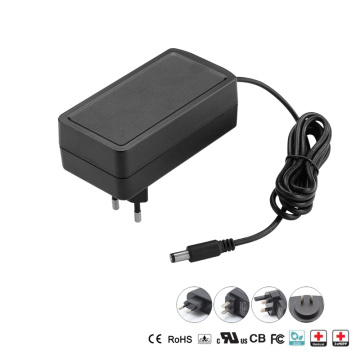 30W Plug-in Wall Medical Power Adapter EU US