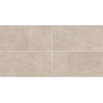 Large gray modern bathroom tile