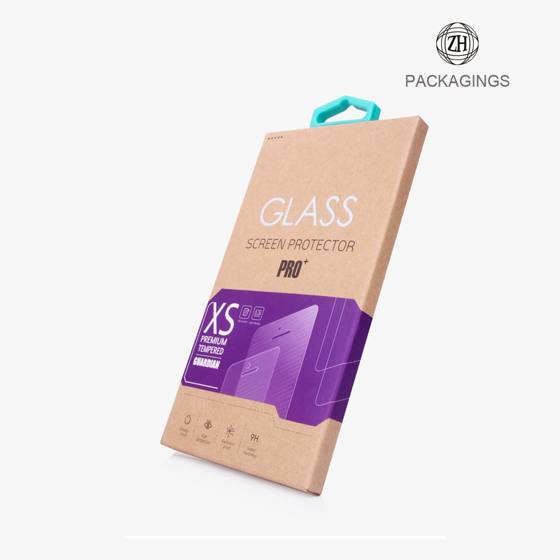 Tempered Glass screen guard packaging