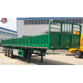3 Axles Low Flatbed Semi Trailer