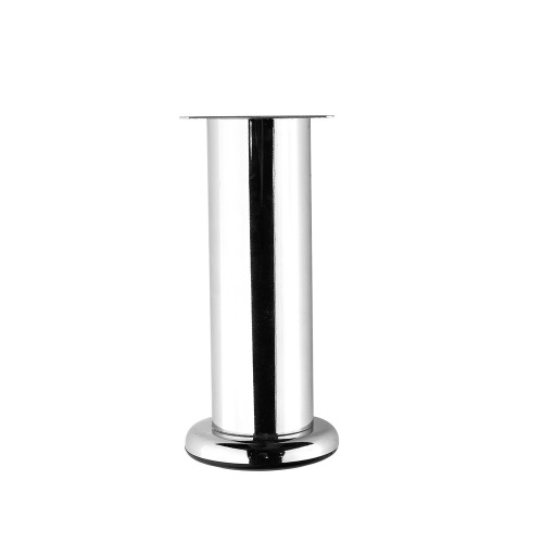 metal chrome sofa leg round tube furniture legs