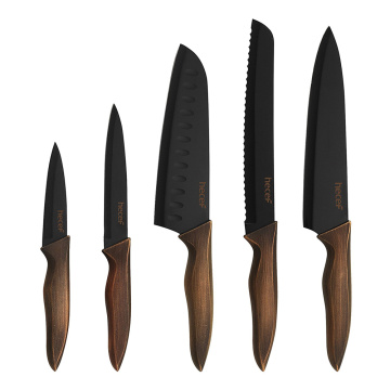 5pcs Retro knife set