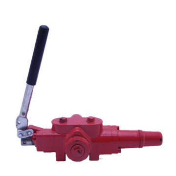 Canadian log splitter valves