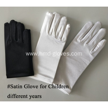 Satin Gloves for Girl