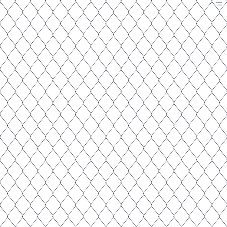Chain link fence pvc