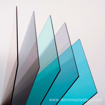 Anti static clear polycarbonate sheet for window panel