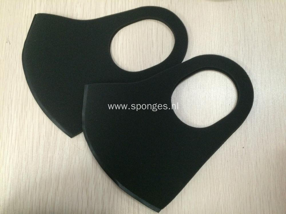 factory direct black mask safety anti pollution sponge