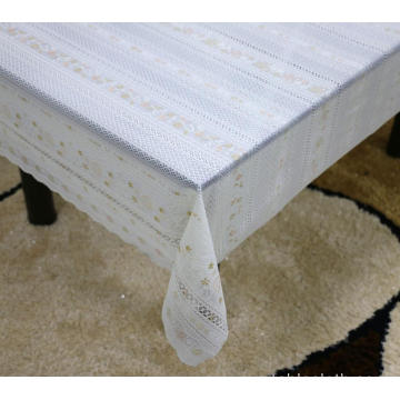Printed pvc lace tablecloth by roll hanukkah