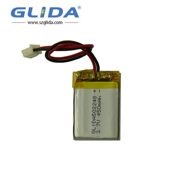 3.7v 200mAh Small Lithium Polymer Rechargeable Battery
