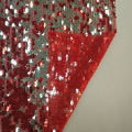 sequin embroidery wedding dress fabric