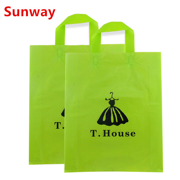 Plasic Bag With Handle