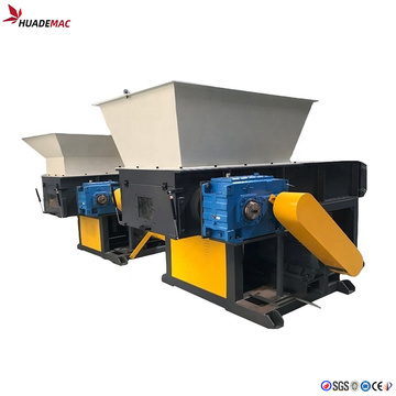 plastic film bag single shaft shredder machine
