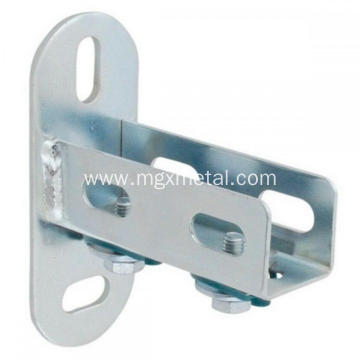 High Quality Steel Zinc Plated U-Profile Wall Bracket