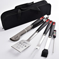 Stainless Steel New 6 piece BBQ Tools set