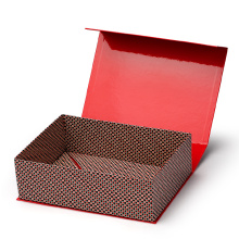 Custom Red Luxury Folding Paper Box with Magnet