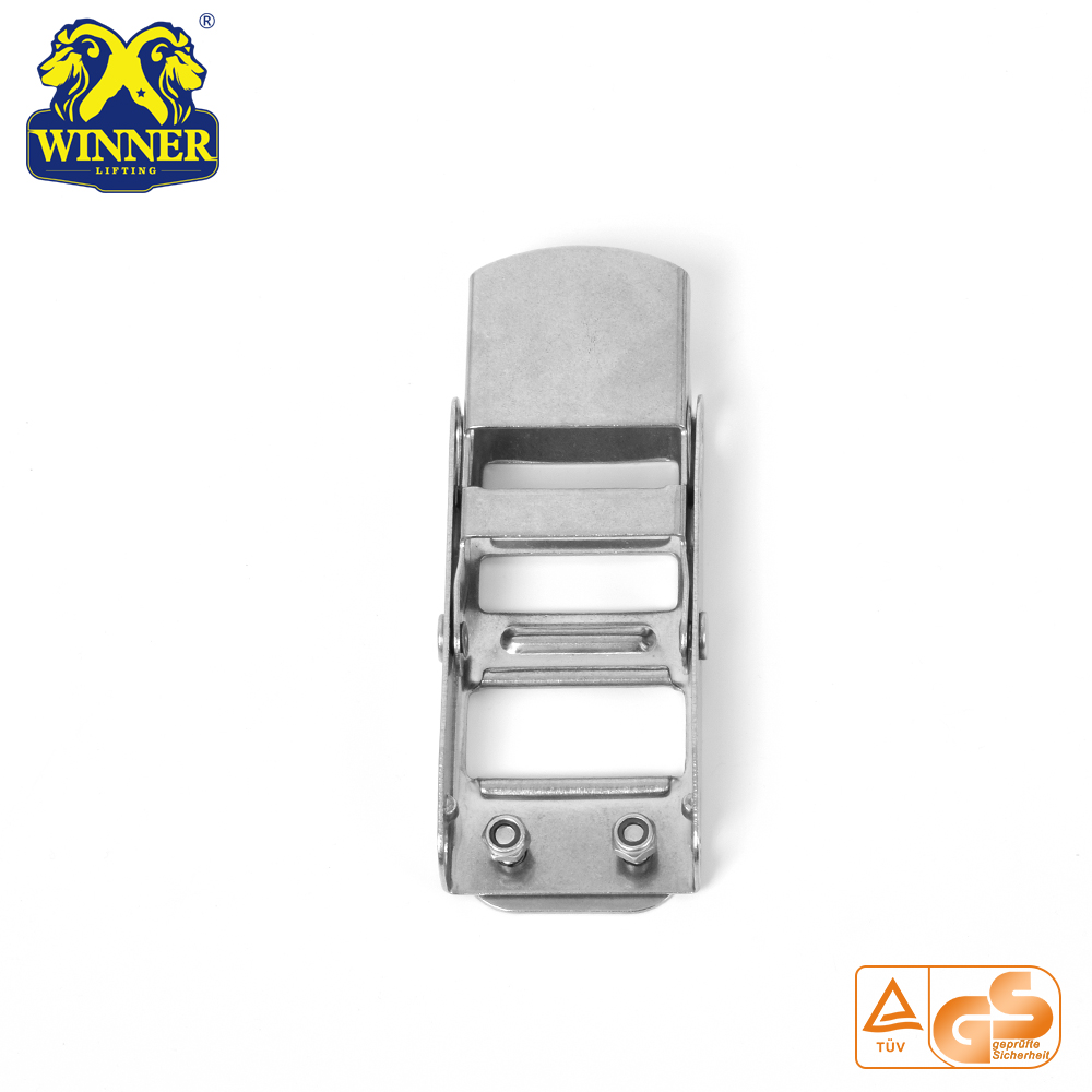 High Quality 500KG 2 Inch Stainless Steel Overcenter Buckle