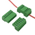 Wire to wire male and female terminal block