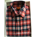 Men Cotton Flannel Fabric Business Shirt