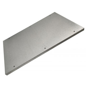Custom Galvanized Steel Sheet Metal Part Fabrication