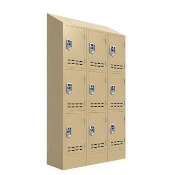 AMERICA SLOPPING TOP METAL LOCKER