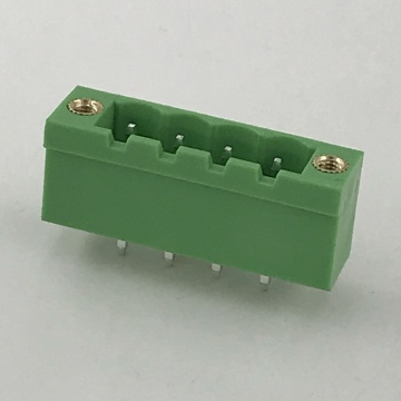 straight pin with screw holes PCB terminal block