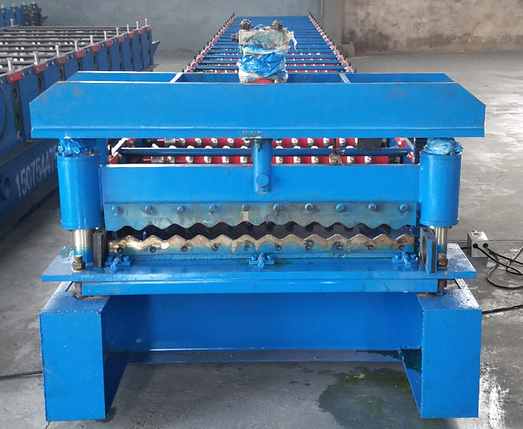 Steel Corrugated Sheet Machine