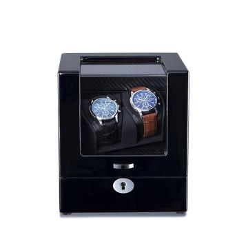 Ebony Single Rotor Watches Display Winder