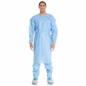 Antivirus Medical Surgical Sterlie Protective Gown