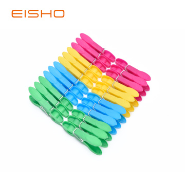 EISHO Colorful Mini Plastic Clothespins FC-1155