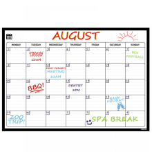 Custom Fridge magnetic whiteboard calendar