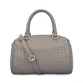 Leather Large Capacity Weave Bags Shopping Tote Bags
