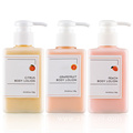 OEM Organic Brightening Grapefruit Perfume Body Lotion