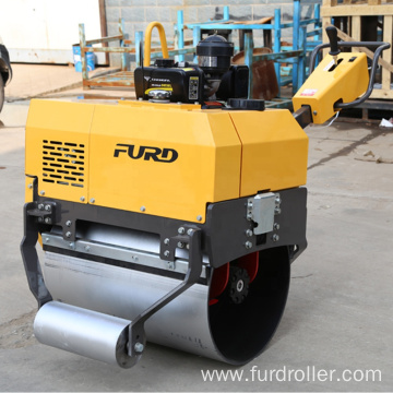 Small vibrator compactor single drum road roller FYL-750