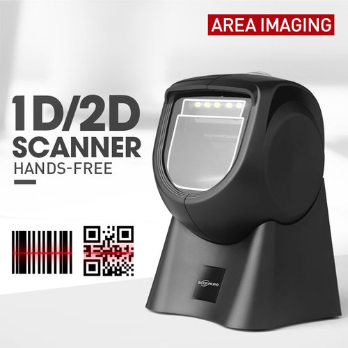 Popular wired 1D 2D Barcode Qr Code scanner