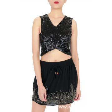 Mini Sexy Sequin Skirt