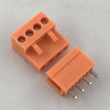 3.96MM Pitch Orange PCB Pluggable Terminal Block