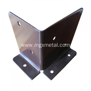 Powder Coated Galvanized Steel Metal Fence Bracket
