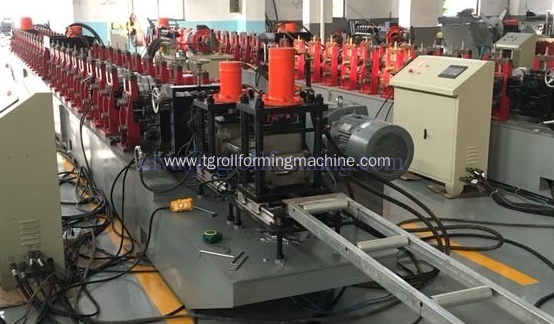 Fully automatic door frame roll forming machines