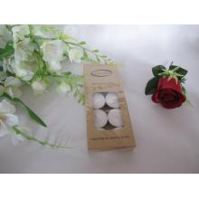 Set of 10 Unscented White Tealight Candle