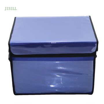Durable foldable vaccine insulin delivery cooler box