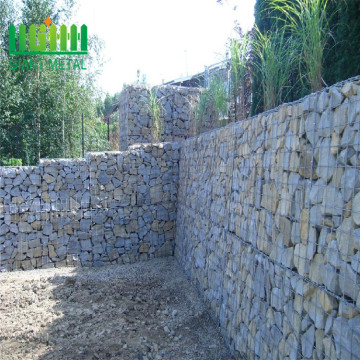 Woven PVC coated gabion box