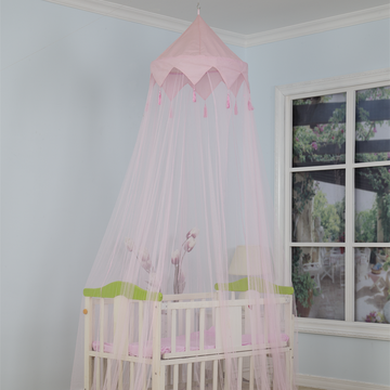 High Quality Polyester Crib Mosquito Net